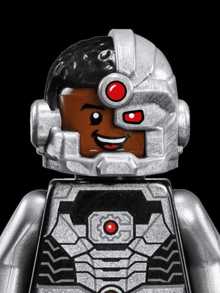 Cyborg - Characters - DC Comics Super Heroes LEGO.com