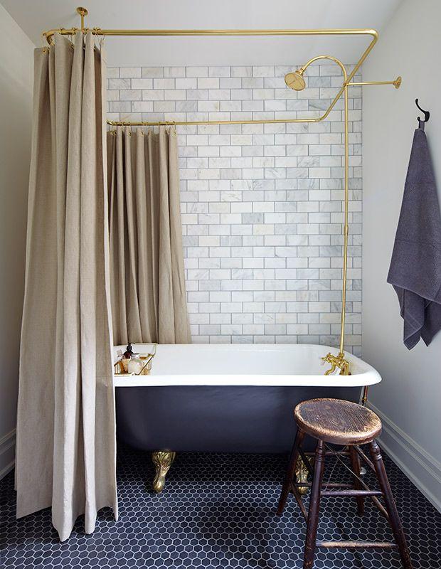 Photo On Best Cast iron tub ideas on Pinterest Cast iron bathtub Master of none cast and Bathroom tubs