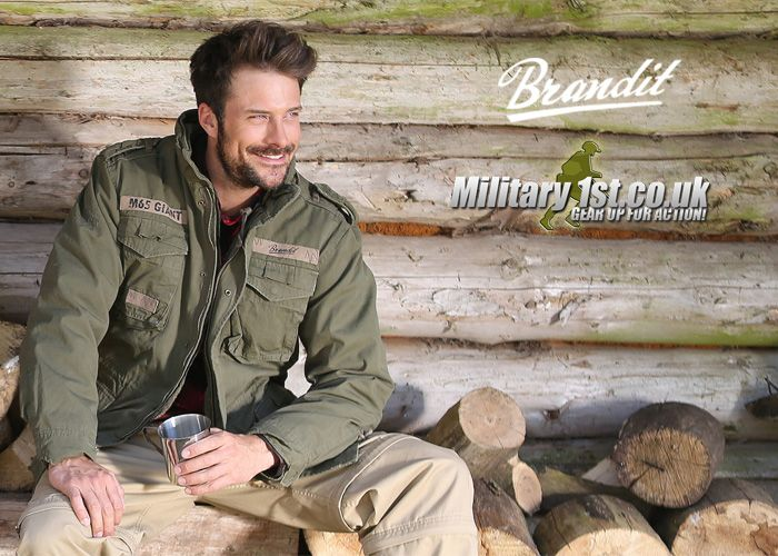 Brandit M-65 Giant Jacket At Military1st