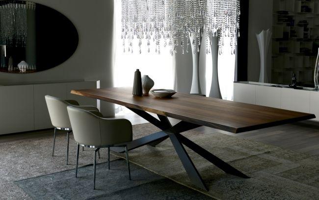 Esstische Esstische Design Endet Schon Auf Modernes Esstisch Von Cattelan Italia Stahlfuss Un Dining Table Design Dining Table Design Modern Modern Dining Table