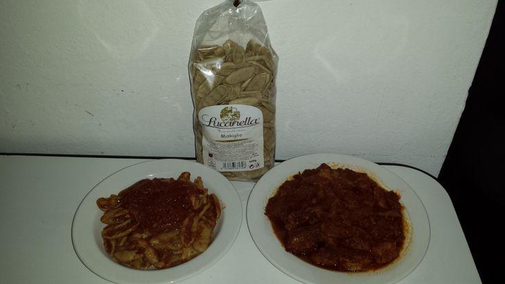 #Miskiglio #pasta di farina di #legumi fave, ceci e orzo grammi 500 http://www.tradizioniatavola.com/