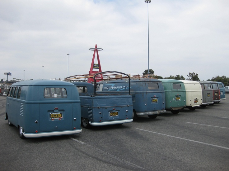 Bus Butts: Vwt1, Dubs, Volkswagen Bus, Ws