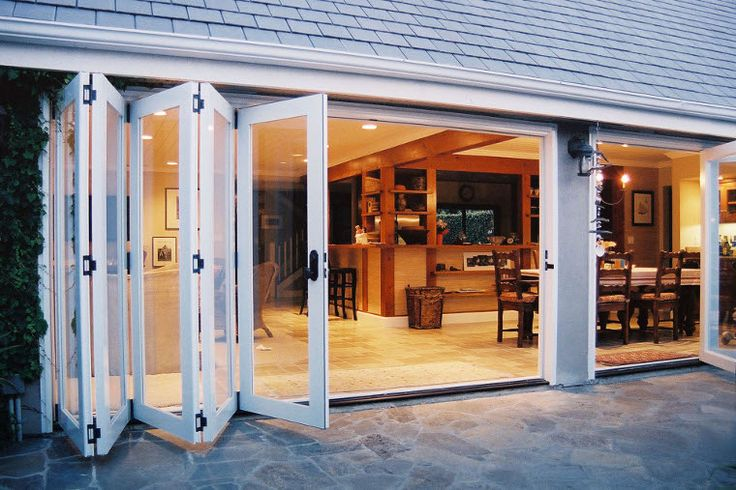Love the way the doors open to bring the indoors out or is that the outdoors in?