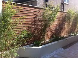 horizontal garden fencing - Google Search