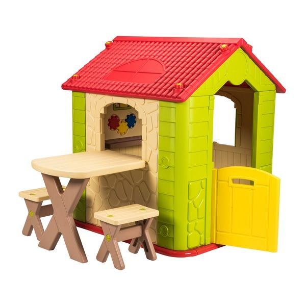 Deluxe Playhouse with Table and Chairs