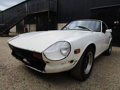 eBay: Datsun 280z 1976 LHD 2 Seater Coupe Project 5 speed RUNNING CAR