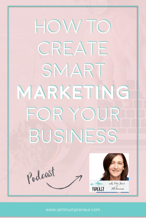 Let's make marketing for your business | shop | etsy shop | creative business | coaching business | entrepreneur dream | passive income super smart this year. To help you with your marketing plan, I just interviewed a marketing consultant for small business - Jill Brennan on my podcast.  We talked about many smart ways you can think about when marketing your business this year. It's a cracker of a show!