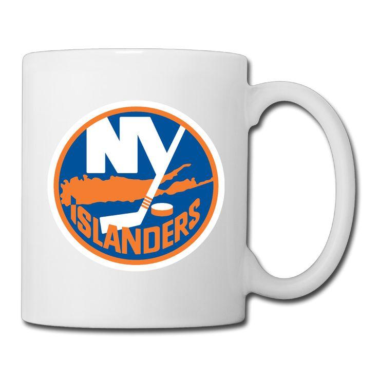 New York Ice Hockey Logo coffee mug smart teacher tazas ceramic tumbler caneca tea Cups #Affiliate