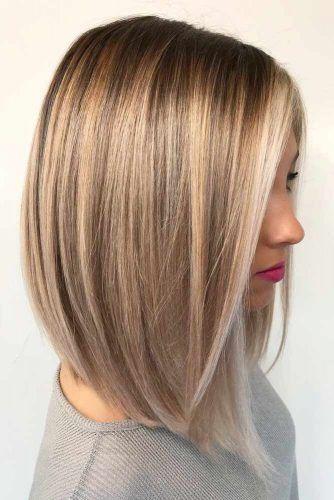 30 Trendy mittellange Frisuren für dickes Haar | Trend Bob Frisuren 2019 #haare #haarschnitt #frisuren #trendfrisuren #mittellange #haarfarben