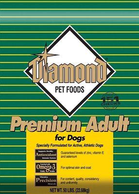 DIAMOND DOG DRY - DIAMOND PREMIUM DOG ADULT - 50LB - DIAMOND PET FOODS - UPC: 74198010509 - DEPT: DIAMOND