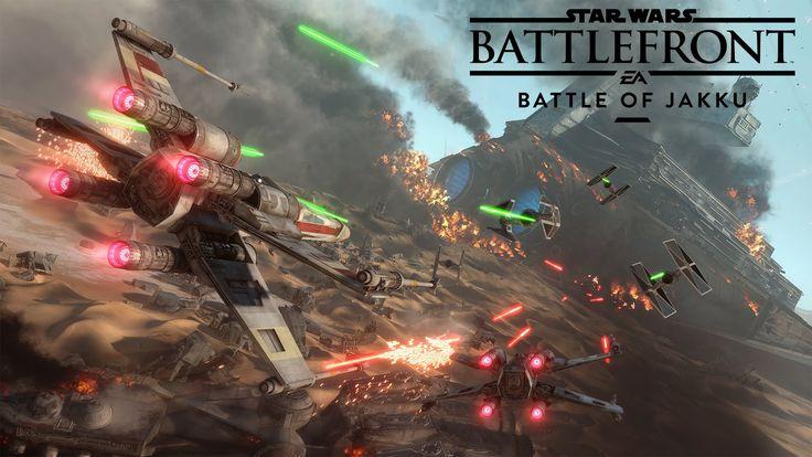 Star Wars Battlefront: Battle of Jakku Gameplay Trailer - http://www.comics2film.com/star-wars/star-wars-battlefront-battle-of-jakku-gameplay-trailer/  #StarWars