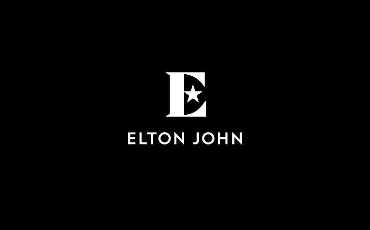 Sir Elton John's new visual identity by graphic designer George Adams