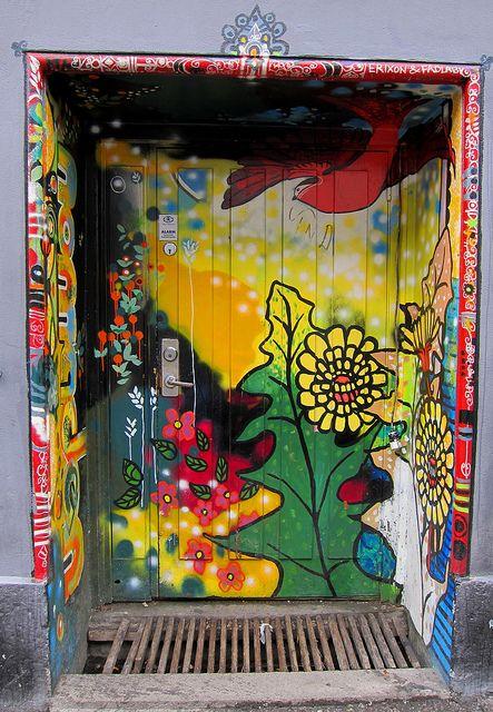 #door Oslo, Norway