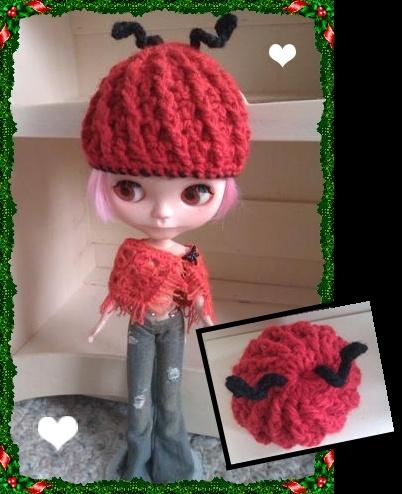 Crochet Hat Pattern For Blythe : 17 migliori immagini su Blythe Doll Crochet Patterns su ...