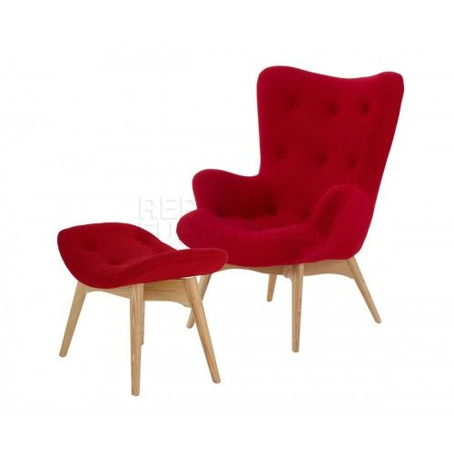 Premium Grant Featherston Chair Red