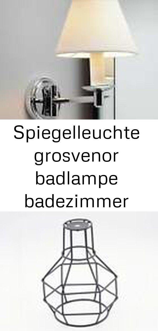 Spiegelleuchte Grosvenor Badlampe Badezimmer Wandleuchte Chrom
