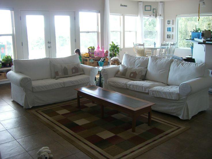 Ikea Ektorp Gra. Ektorp Sofa In A Black And White Living Room