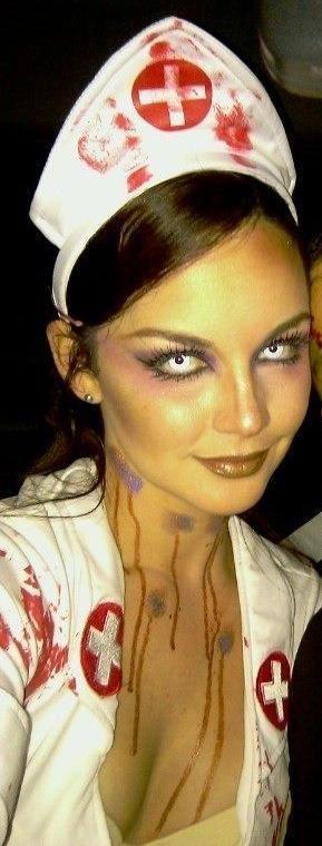 Scary Sexy Nurse Costume Idea