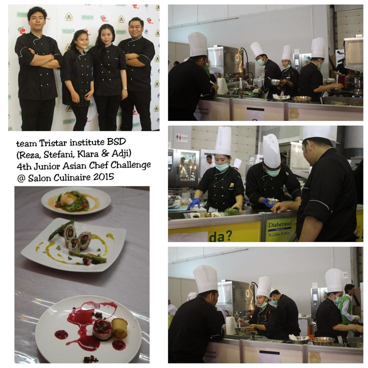 Tristar Culinary Jakarta: Tristar Institute BSD - 'Salon Culinaire Chef's Co...