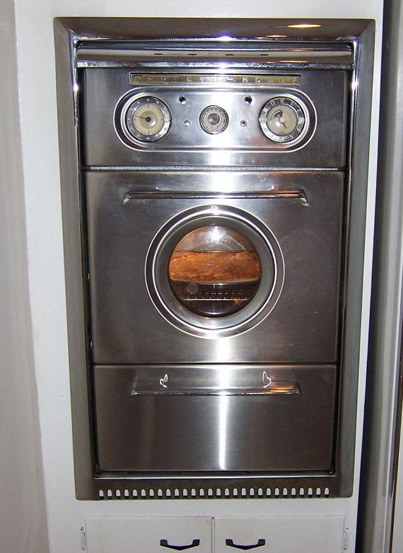 vintage western holly stainless steel porthole atomic era on wall ovens id=95438