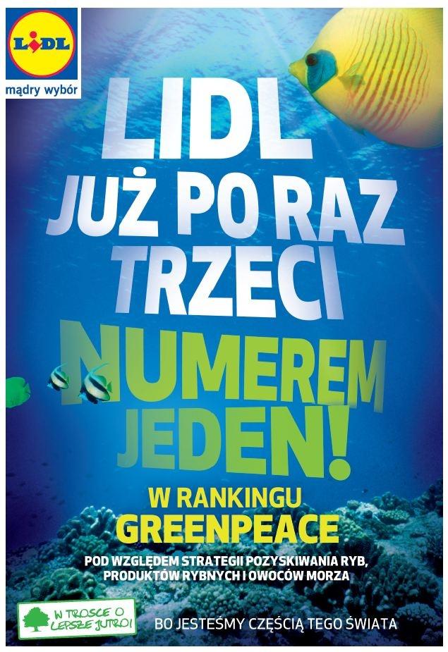 Lidl Polska kolejny raz liderem rankingu Greenpeace - 2012