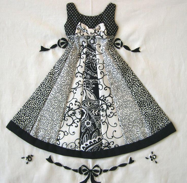 Vintage Wedding Dresses Dallas: 144 Best Images About Dress & Apron Applique Quilt