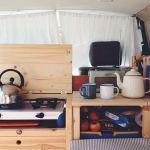 Camper Van Conversions DIY 43
