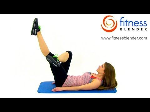 Lean Toned Stomach Workout - 10 Minute Abs & Obliques Workout, Fitness Blender...I really like this one!  Lots of different moves that are not the same old stuff