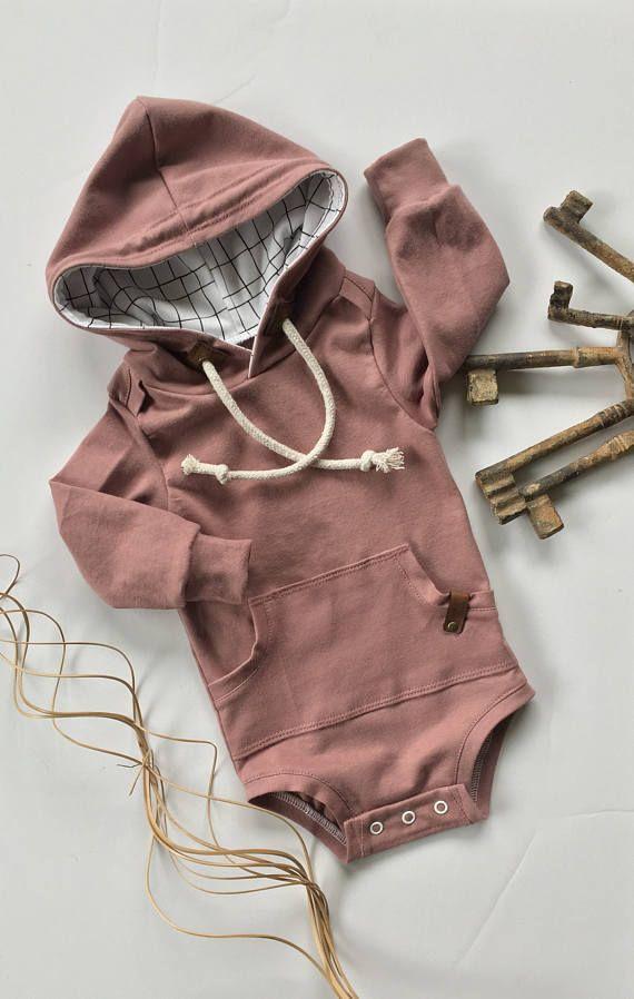 Bodysuit hoodie baby sweatshirt baby hoodie baby bodysuits