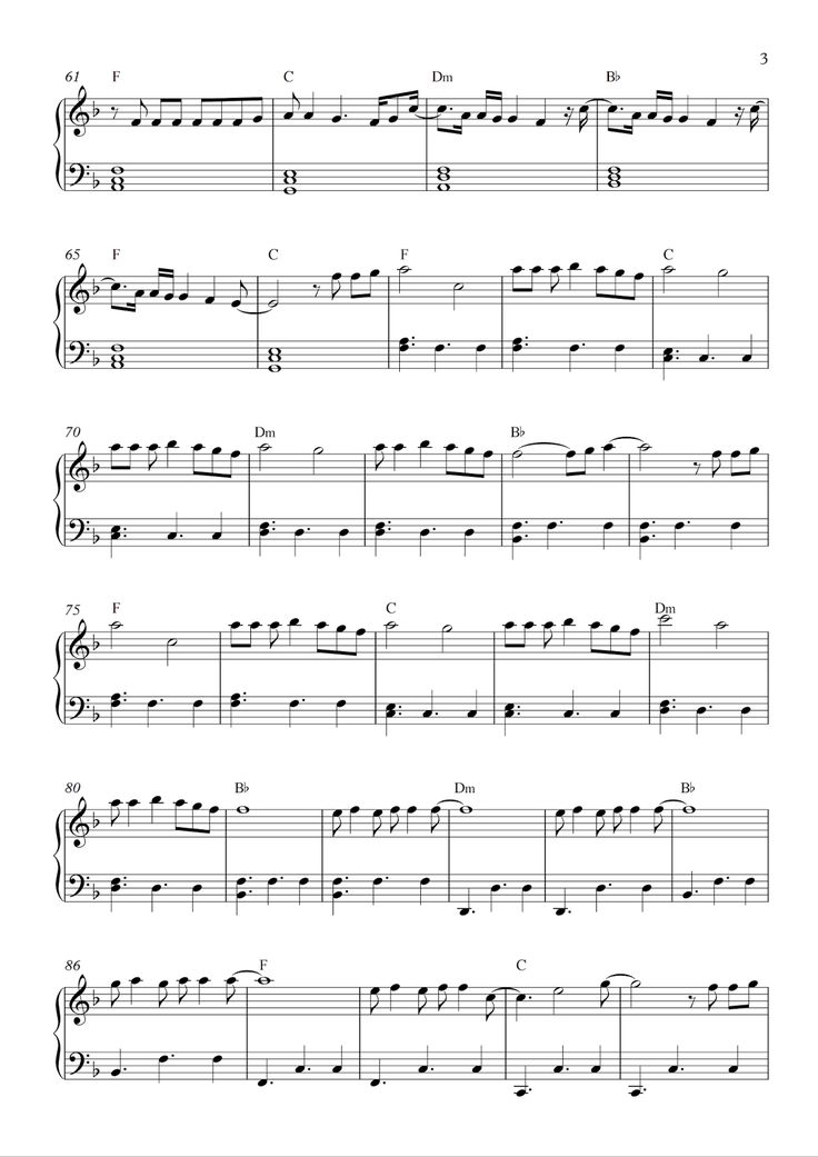 how will i know sheet music pdf