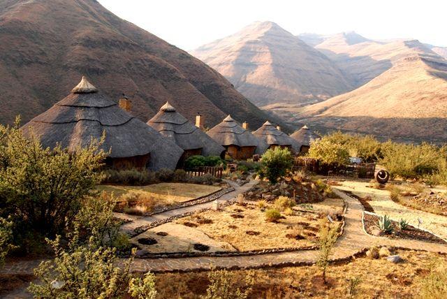Mountain Lodge Chalets #Lesotho #Malibalodge #Malibamountainlodge