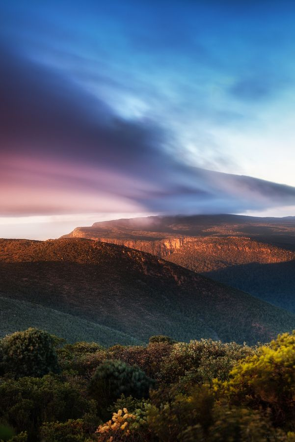 Clouds Over Mount William - Halls Gap, Australia