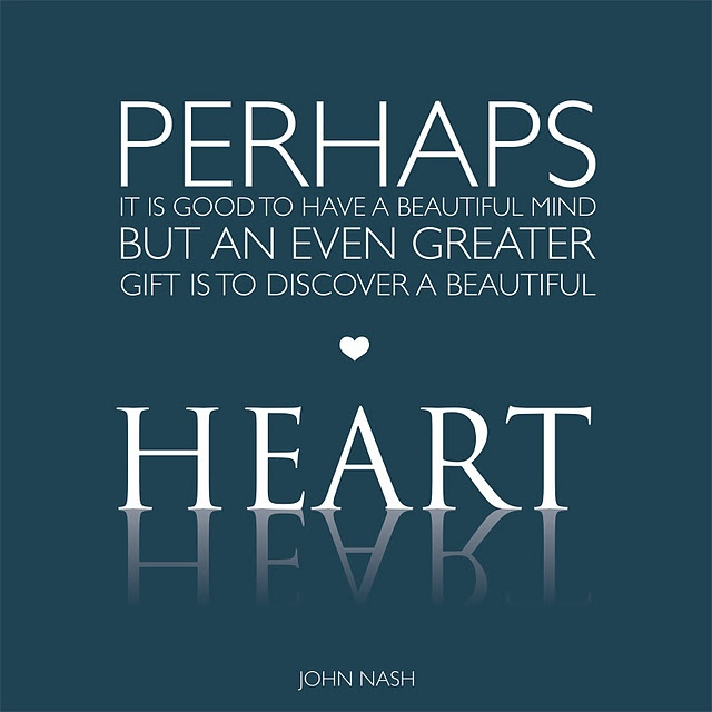 A Beautiful Heart Quotes 1000+ images about Bea...