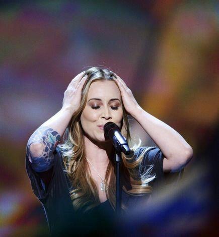 "Anouk; 'Eurovision Songfestival' Malmö 2013 Sweden met ""Birds"""