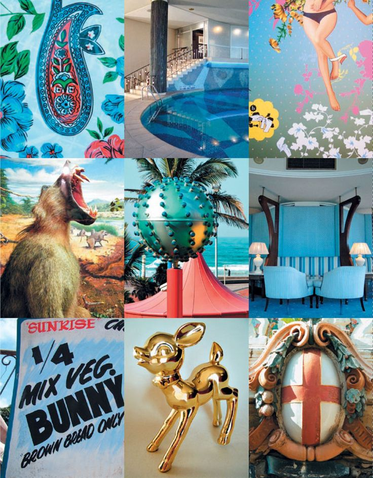 collage of Durban colour & quirks