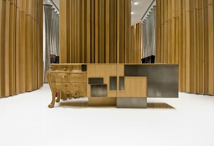 Evolution Sideboard Made by Combining Old and Modern Woodcraft (12)
