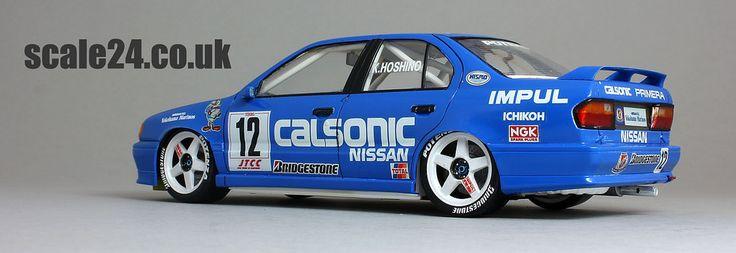 Nissan Primera - Calsonic #12 Kazuyohi Hoshino 1994 JTCC Tamiya #24147