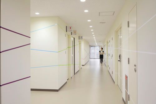 Clinical Research Center by emmanuelle moureaux architecture + design in interior design  Category