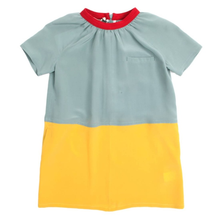 The kids get all the cute stuff. MARNI Enfant Colorblock dress (adult shirt perhaps?).