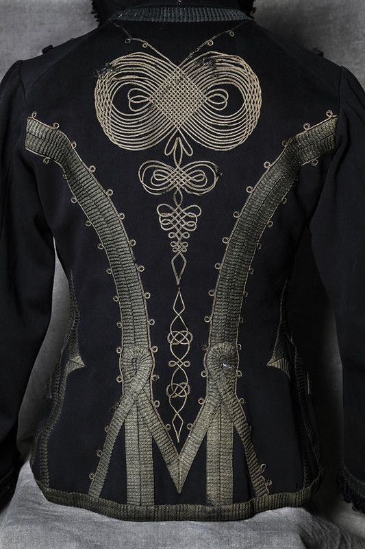 Патриотизм, импрессионизм и вышивка сутажем в XIX веке.: la_gatta_ciara