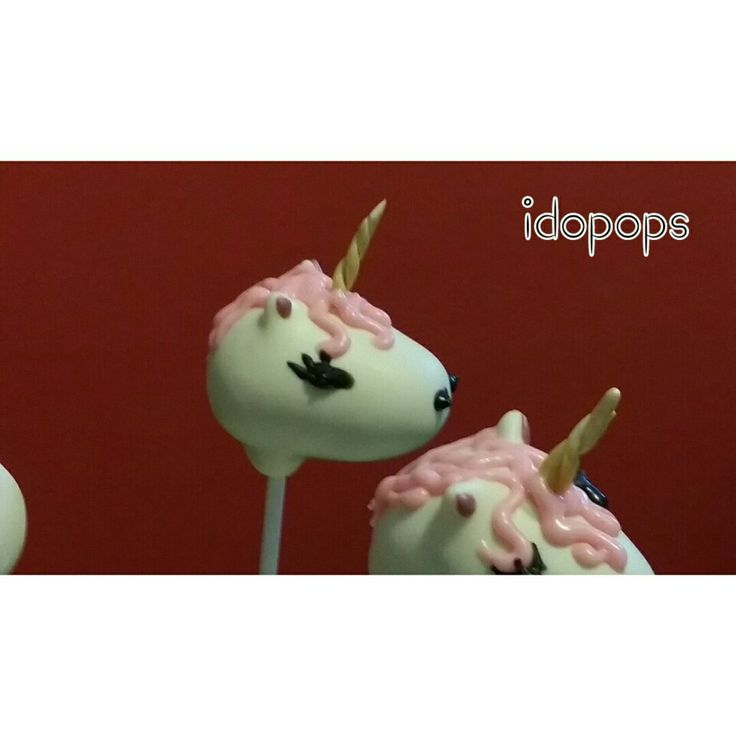 Unicorn chocolate cakepops  #idopops #cakepops #kidsparties #parties #rhyme #unicorn #fantasy #fairytale #birthday