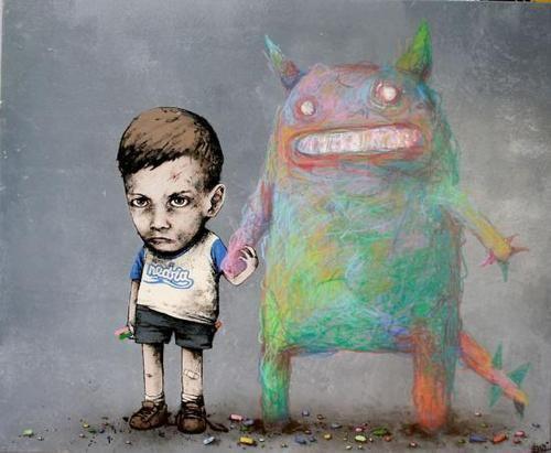 French street artist-Dran  Mon_ami_256_fullsize_large