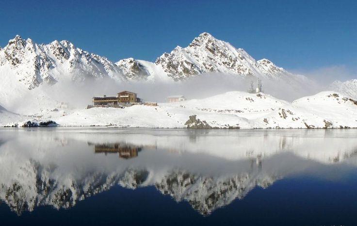 Balea Lake, Fagarasi Mountains, Romania