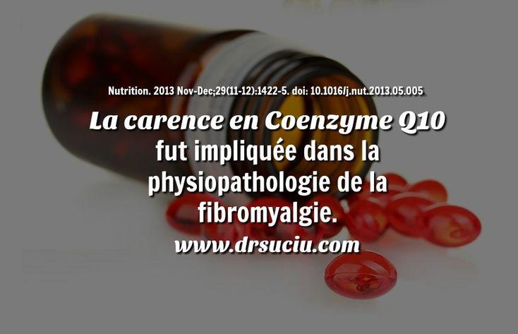 Photo drsuciu La carence en Coenzyme Q10 et la fibromyalgie