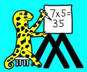 Math Salamanders-- free math worksheets