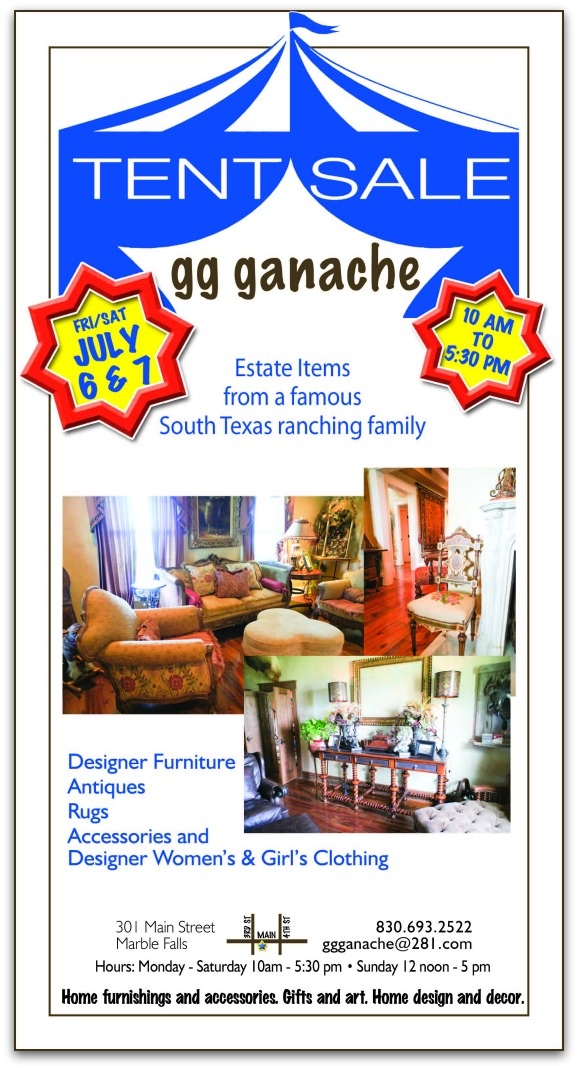 Gg Ganache TENT SALE July 6 U0026 7 Estate Items From A Famous South Texas  Ranching