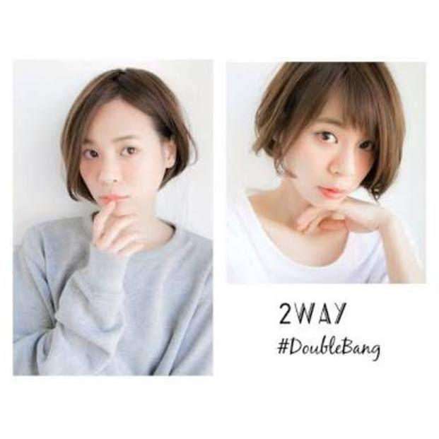 前髪だって2wayでイメチェン♡ダブルバングが話題に! - Locari(ロカリ)