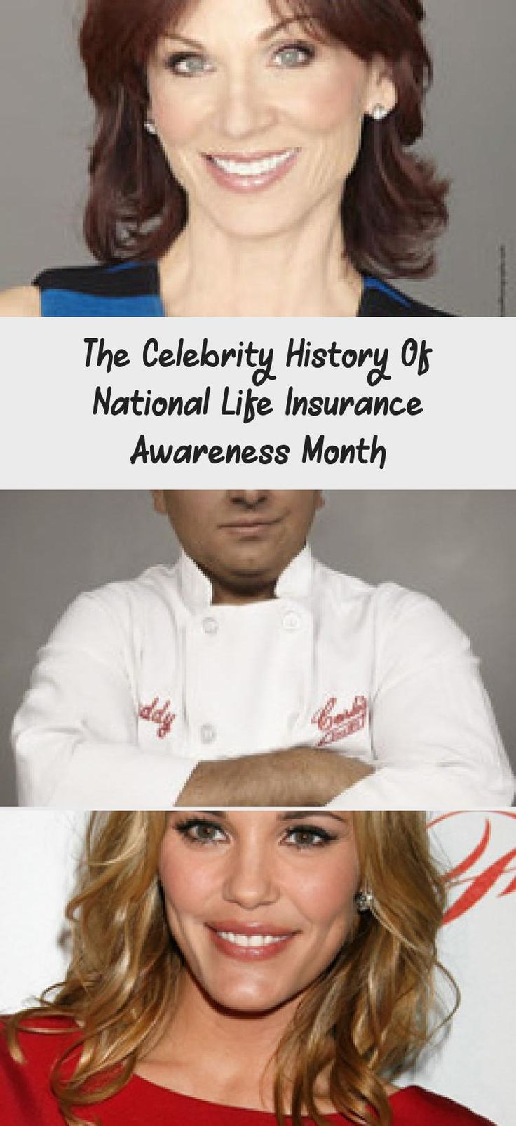 The Celebrity History Of National Life Insurance Awareness