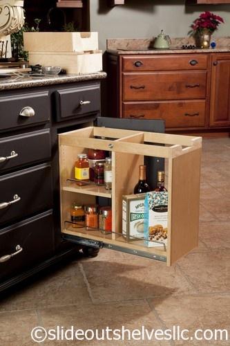 Smartcab Pull Out Shelf System. Pantry CabinetsKitchen ...