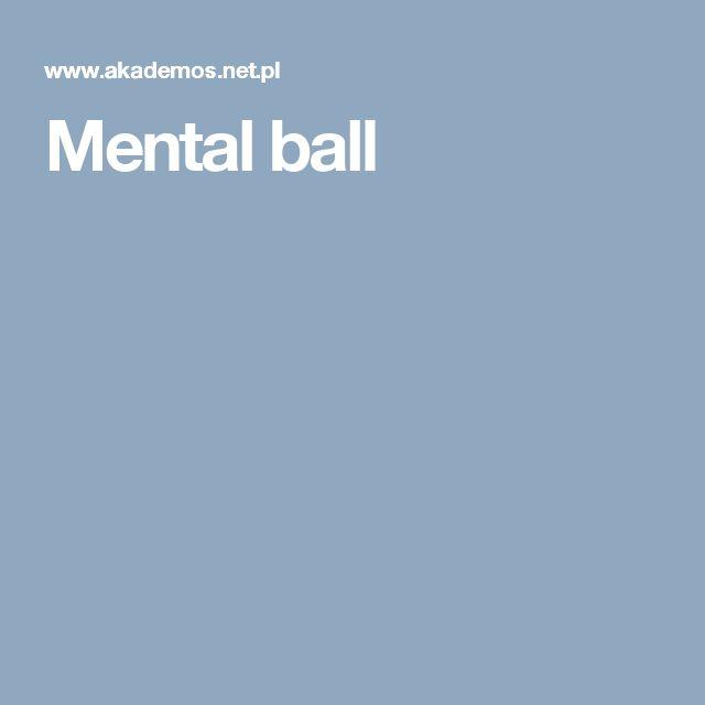 Mental Ball Ball Fitness Mental